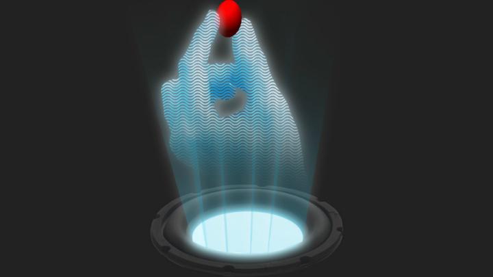 """Физики создали звуковую """"руку"""" для манипуляции предметами"""