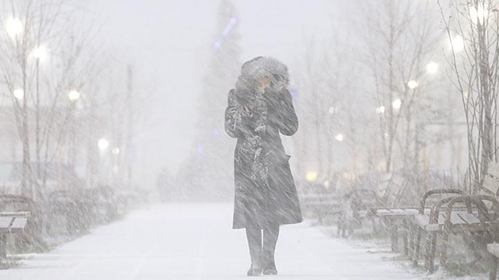 Москву атакуют сильные метели и морозы