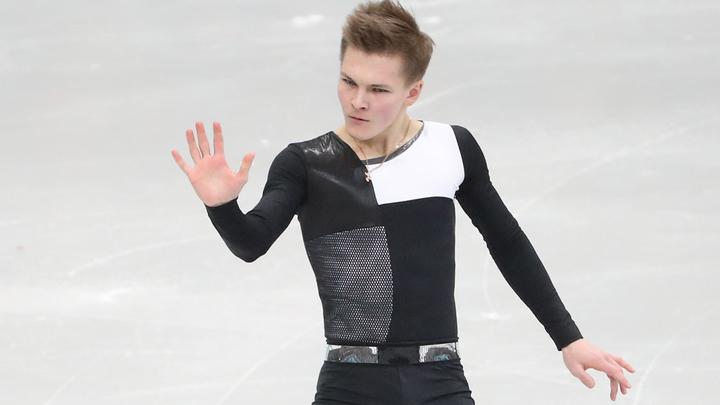 Фигурист Коляда выиграл короткую программу на чемпионате России