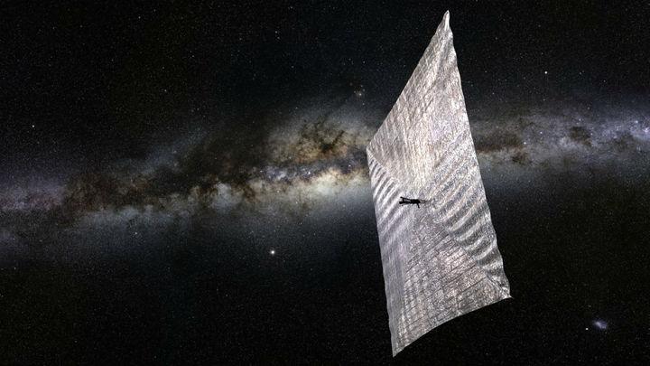 Учёные придумали наноматериал для космических парусов