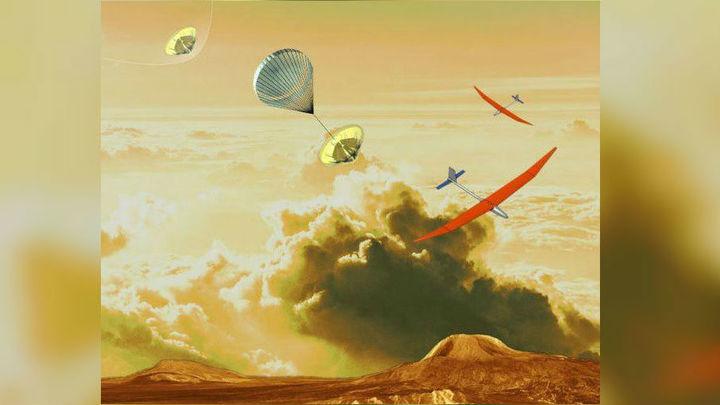 НАСА решило запустить самолёт в атмосферу Венеры