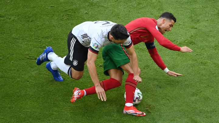 """Евро-2020. Португалия – Германия – 2:4. Матч группы """"F"""""""