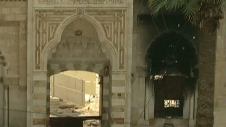 Сирийские боевики разрушают исторический центр Алеппо
