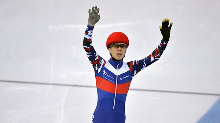 Елистратов завоевал золото в многоборье на чемпионате Европы по шорт-треку