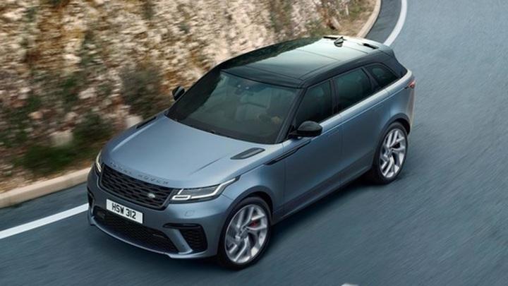 Новый Range Rover Velar: современная электроника и привычный комфорт