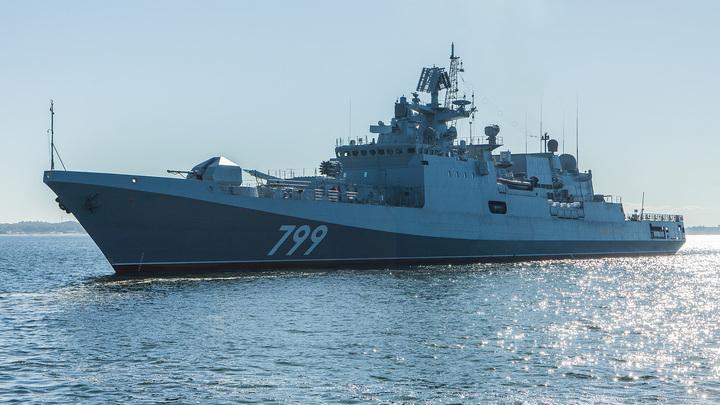 Российские ракетные корабли вышли в Черное море на учения