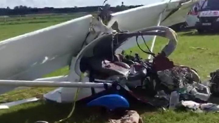 Два человека погибли при крушении самодельного самолета в Иркутской области