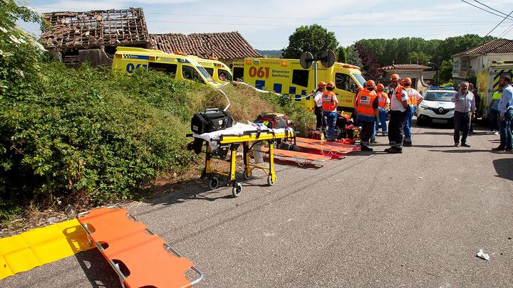 В Испании разбился частный вертолет