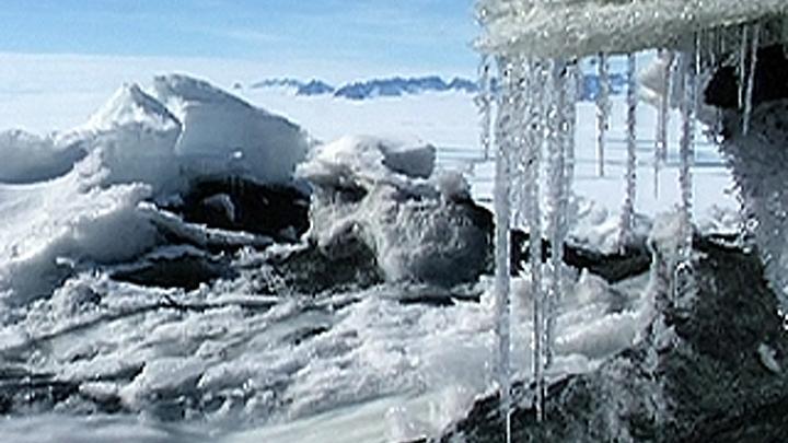Крупное скопление вулканов обнаружили в Антарктиде