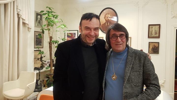 Юрий Башмет и Дмитрий Бертман