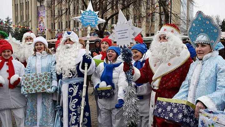В Уфе в связи с Парадом Снегурочек закроют часть дорог