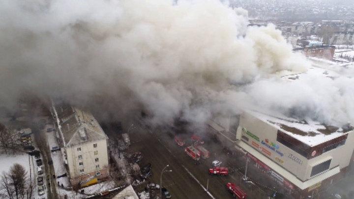 """Аман Тулеев: """"Зимнюю вишню"""" могли специально поджечь"""