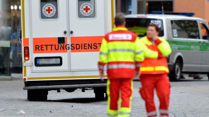 В Германии в двух ДТП пострадали 17 человек