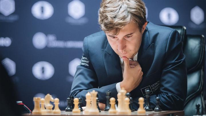 Шахматы. Ничья Карякина, поражение Федосеева