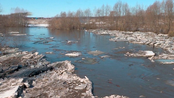 Башкирские реки выходят из берегов: началась эвакуация жителей и домашних животных