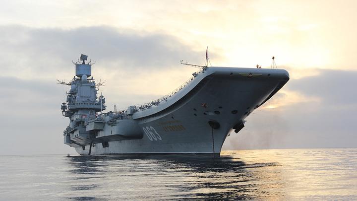 """При ремонте авианосца """"Адмирал Кузнецов"""" похитили 45 миллионов рублей"""