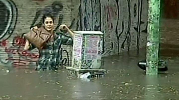Аргентина. Наводнение в Буэнос-Айресе