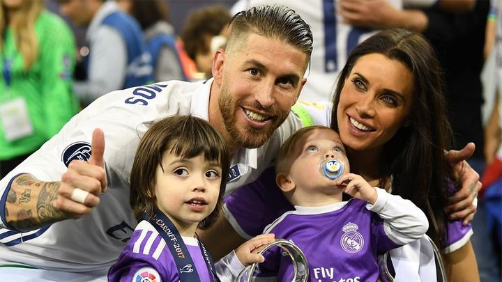 Серхио рамос дети
