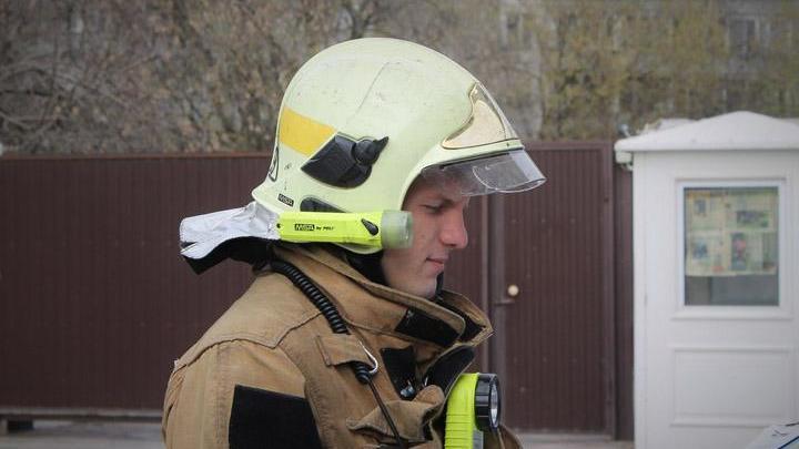 В Воронеже потушили пожар на крыше строящегося 22-этажного дома