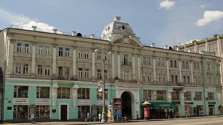 Репетиции во время ремонта: Театр имени Ермоловой готовится к открытию