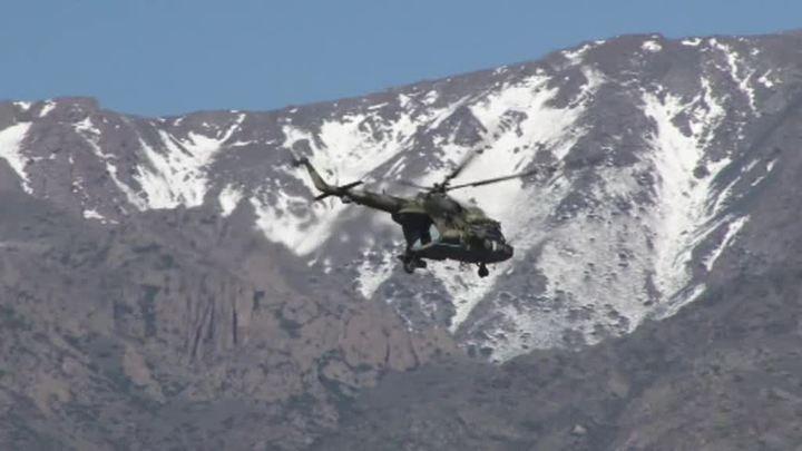 Вертолет Ми-8 со спецназом разбился в районе границы с Таджикистаном