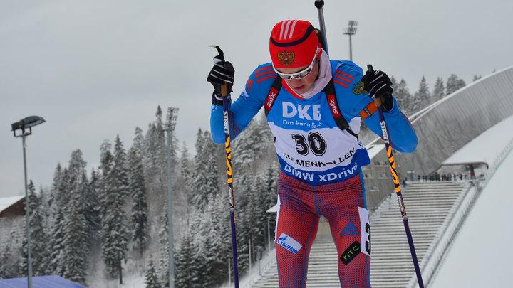 Биатлонист Антон Бабиков выиграл масс-старт в Ханты-Мансийске