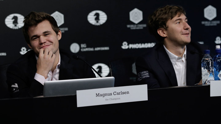 чемпионат мира по шахматам карлсен карякин