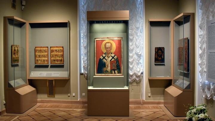 В Эрмитаже открылась экспозиция, посвященная древнерусской иконописи