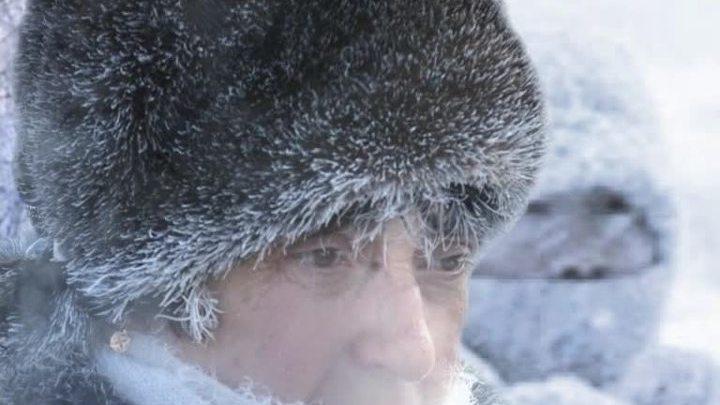 Россия. Лютые морозы
