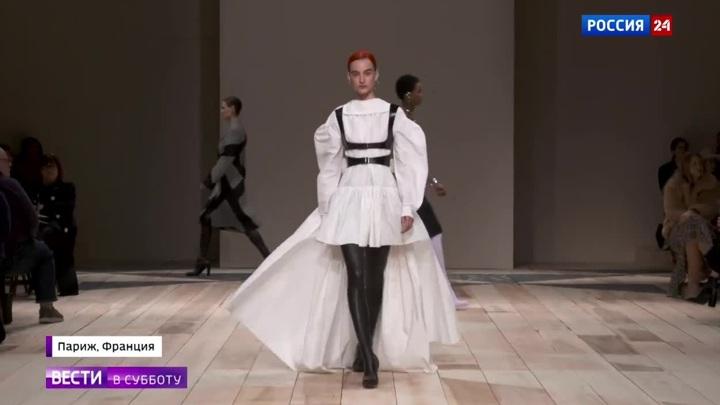 Брутальность, блеск и унисекс: в Париже завершилась Неделя моды