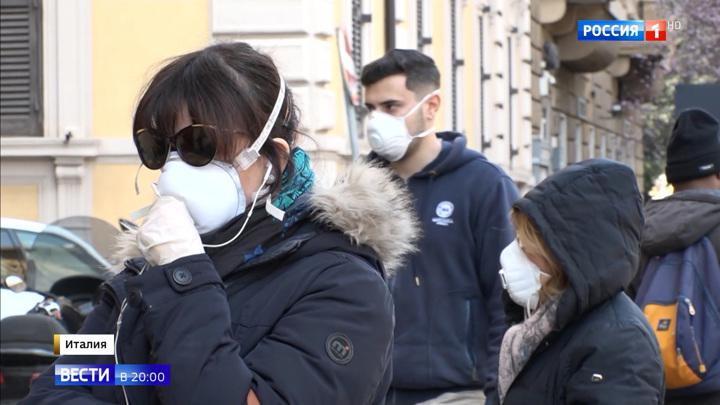 Страх и вирус: итальянцы берут штурмом магазины и закрываются дома