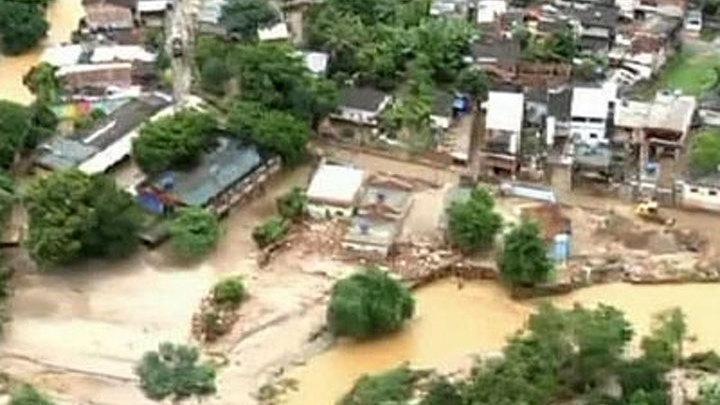 Бразилия и Перу оказались во власти наводнений