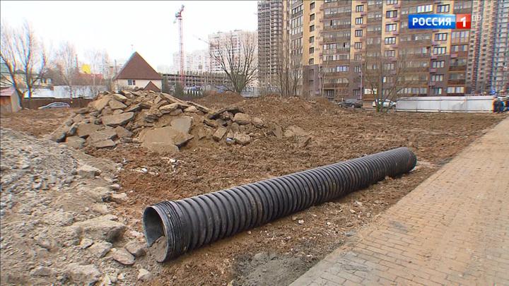 Из-за уничтожения пруда жители Одинцовского района боятся подтоплений