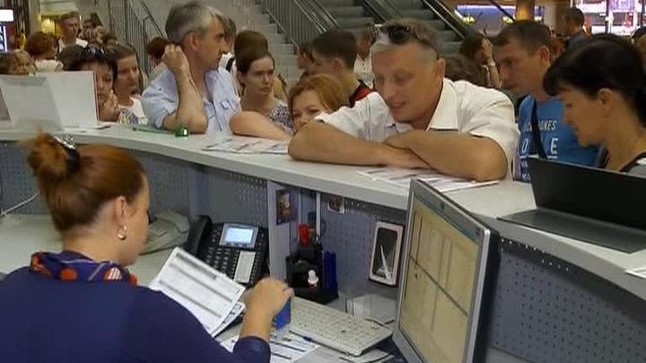 """""""Аэрофлот"""" предложил сделать платной регистрацию пассажиров на рейс"""