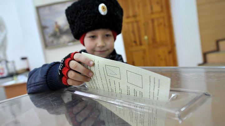 Крым выбирает свою судьбу на референдуме. Явка беспрецедентная