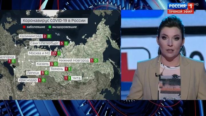 60 минут. Коронавирус в России набирает обороты