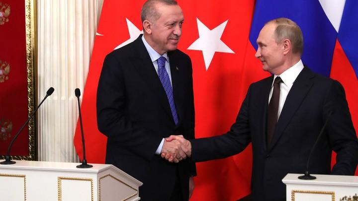 Отношения Путина и Эрдогана стали залогом конструктивного диалога