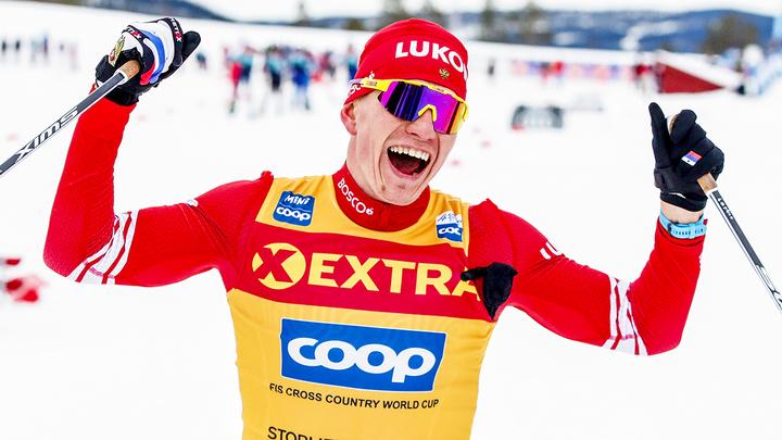Большунов и Диггинс идут первыми в лыжном Кубке мира
