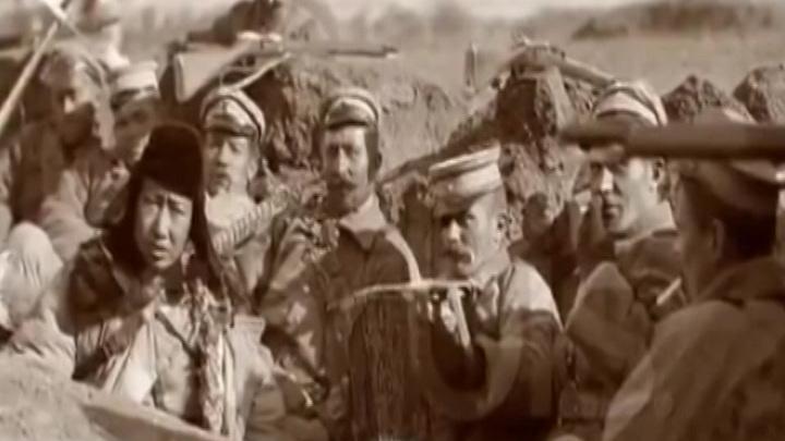 Налет Красной Армии на ставку атамана Анненкова в селе Уч-Арал в районе Джунгарского Алатау