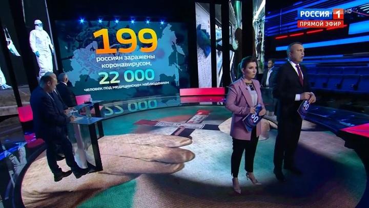 60 минут. Число заболевших коронавирусом в России выросло на полсотни