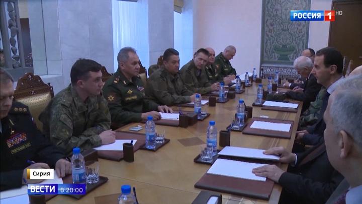 Шойгу в Сирии встретился с Асадом: Анкара готовит антитеррористическую операцию в Идлибе