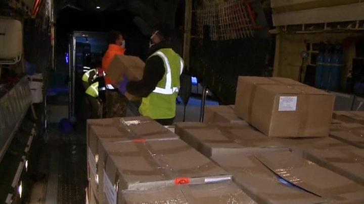 14-й самолет ВКС России прибыл в Италию для помощи в борьбе с коронавирусом