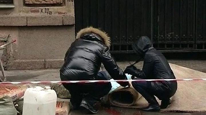 В Питере в коляску с ребенком упал кусок лепнины