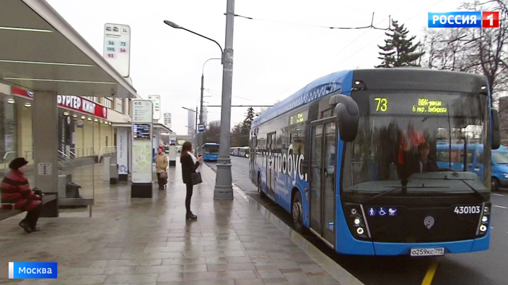 Электробусы обслуживают уже 23 маршрута в Москве