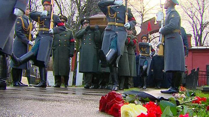 Виктора Черномырдина похоронили на Новодевичьем кладбище