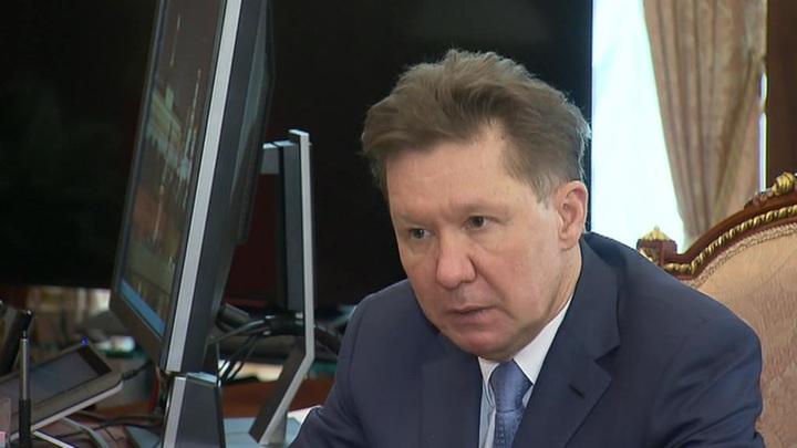 """Миллер переизбран главой правления """"Газпрома"""" еще на пять лет"""