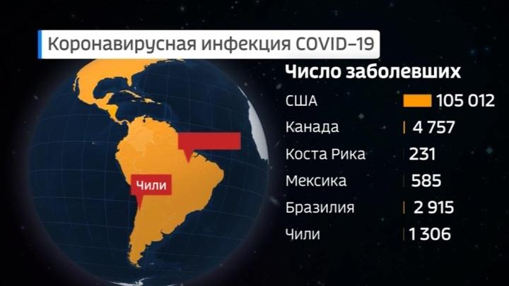 США занимают первое место в мире по числу инфицированных COVID-19
