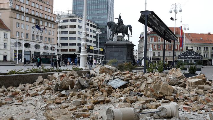 Вучич предложил Хорватии помощь в связи с мощным землетрясением