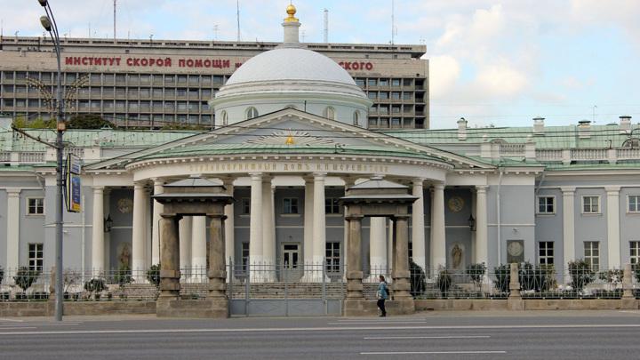 В Москве на территории НИИ имени Склифосовского произошел пожар