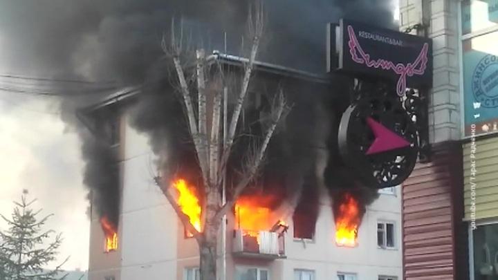 В Зеленогорске произошел взрыв бытового газа в многоквартирном доме